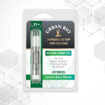 CBD vape hybrid - Lemon sour diesel